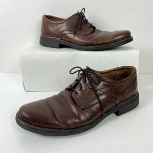 Josef Seibel Brown Oxford Men Sz 45 EU / 11-11.5